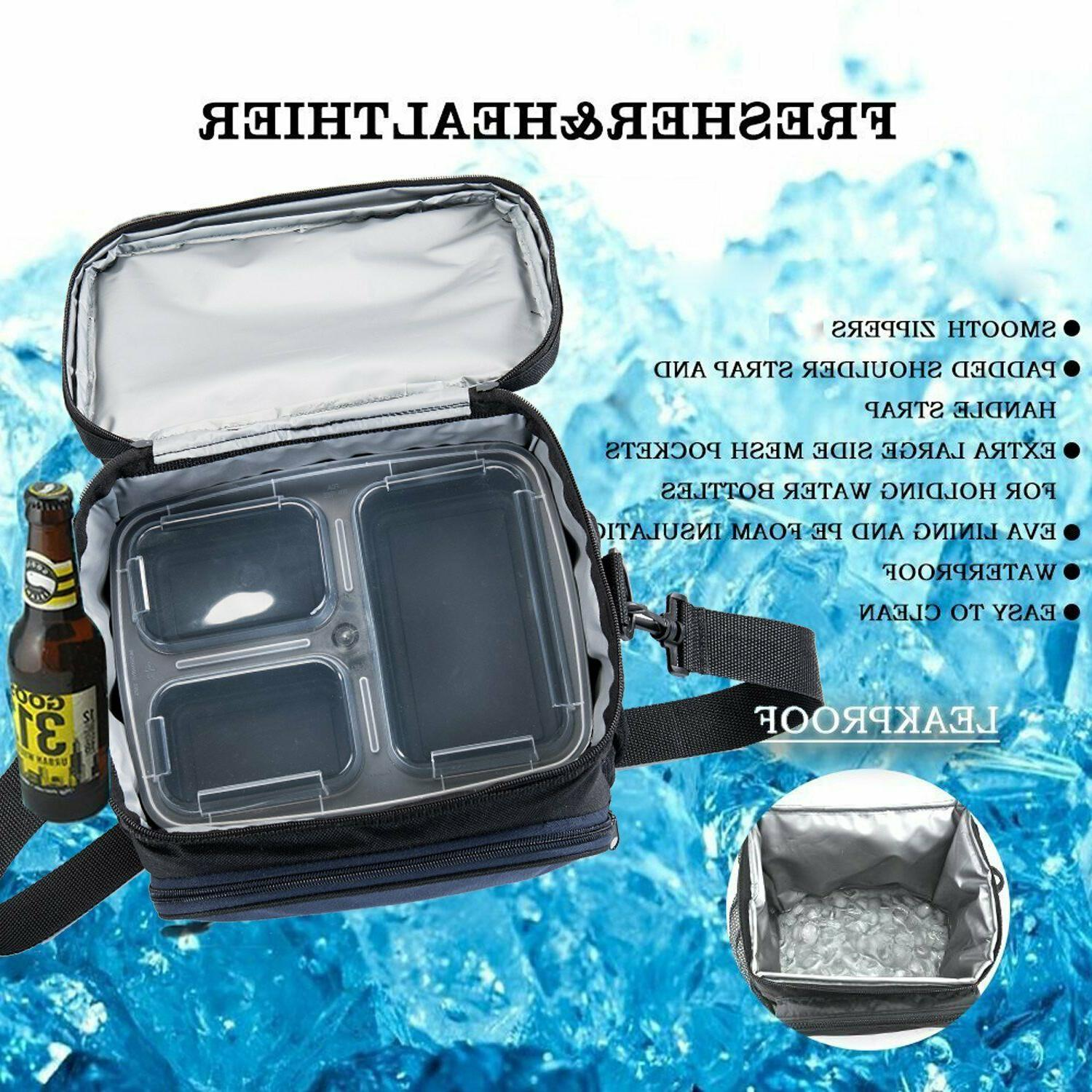 Meal Insulated Lunch, Travel, Picnic 7 Containers