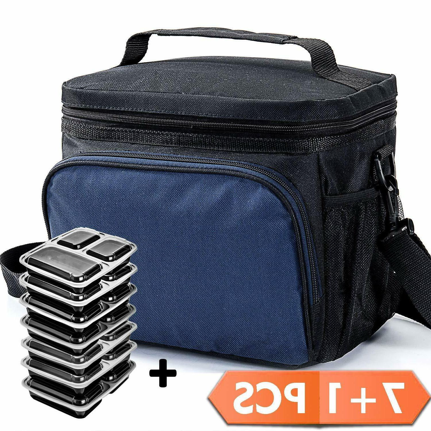 meal prep fitness bag insulated lunch gym