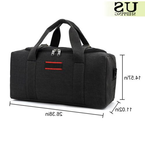 Men's Canvas Gym Shoulder Travel Luggage