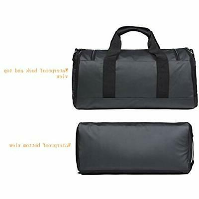 MIER Bag Men Duffel Black Sports
