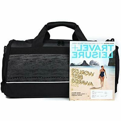 Bag Shoe Men Duffel Black Sports
