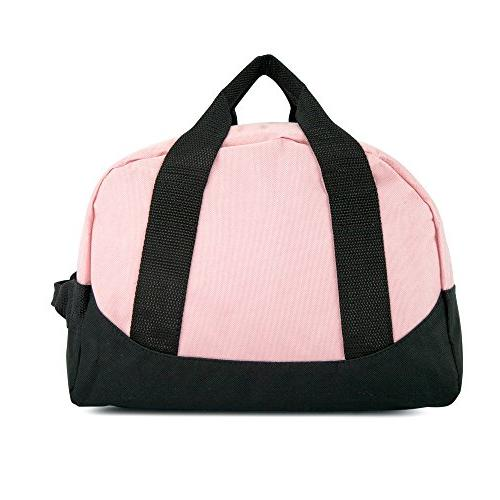 "12"" Mini Two Duffle Bag in Pink and"