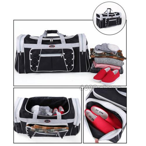 New Heavy Tote Duffle Travel Bag