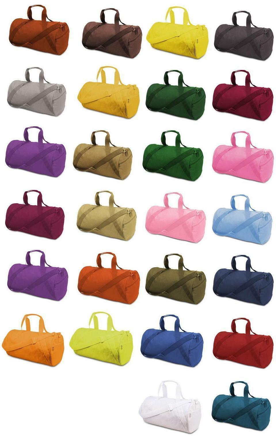 new eco recycled small duffle gym bag