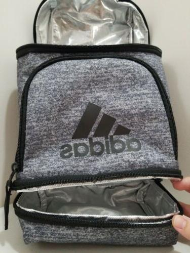 NEW Insulated Gym Bag Zippered Pack