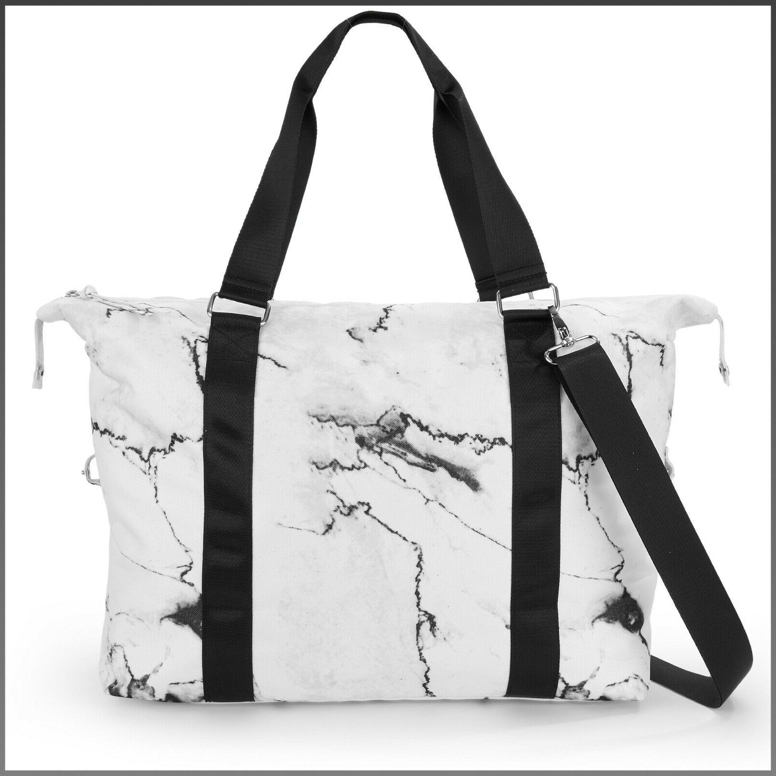 Print Duffle, Yoga with Waterbottle