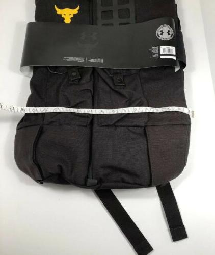 NWT Under Armour The Project Rock 90 Gym Duffle Bag UA Backpack LTD