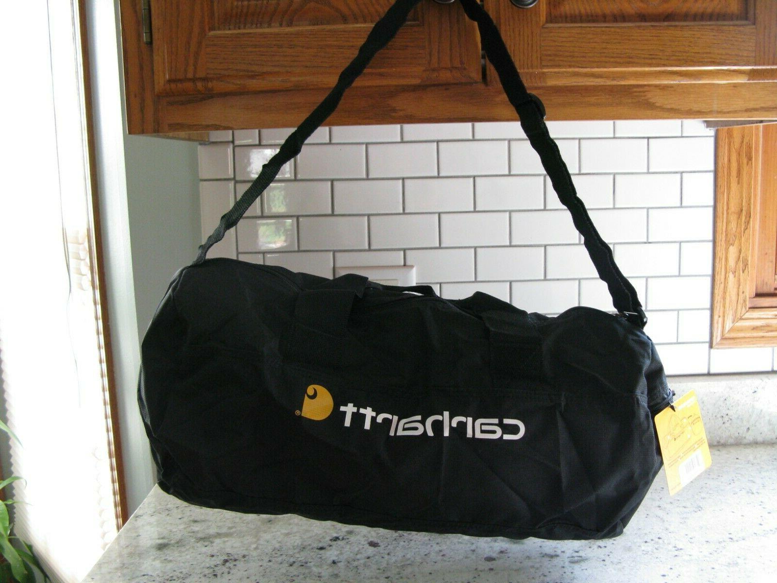 Carhartt Packable zippered bag work gym black