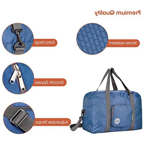 Packable Tote Luggage, Foldable Gym Duffel