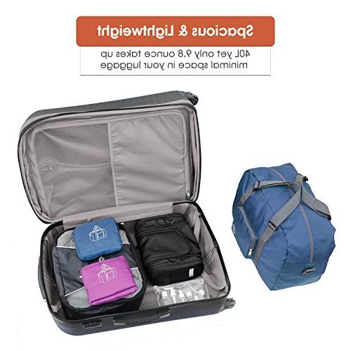 Packable Travel Tote Foldable Duffel