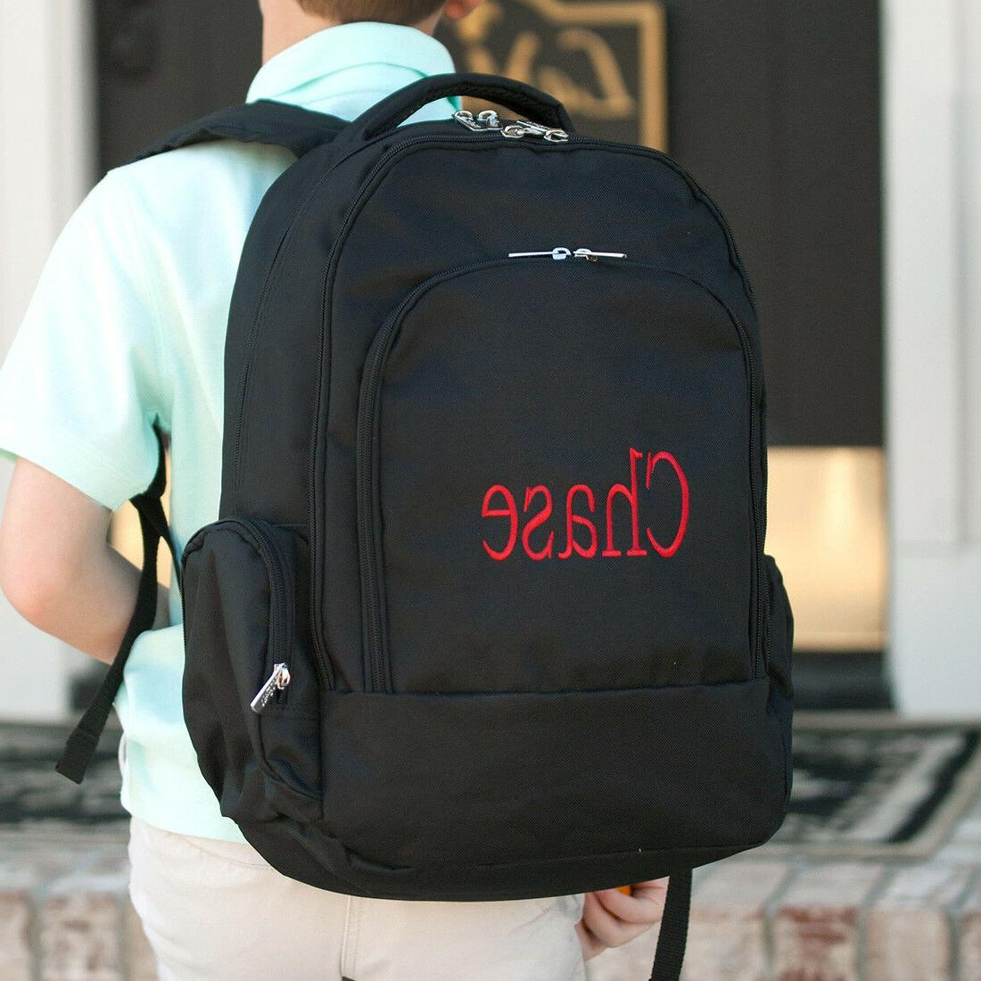 PERSONALIZED BLACK INSULATED or GYM BAG
