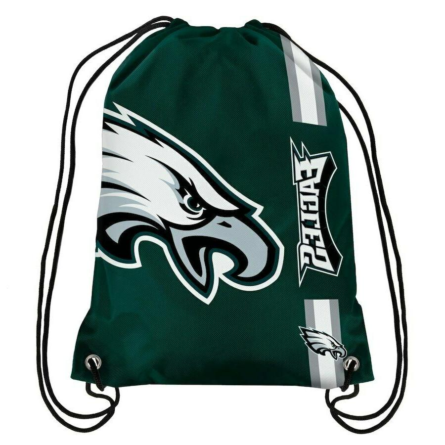 Philadelphia Eagles Drawstring Bag Backpack NFL Football Lic