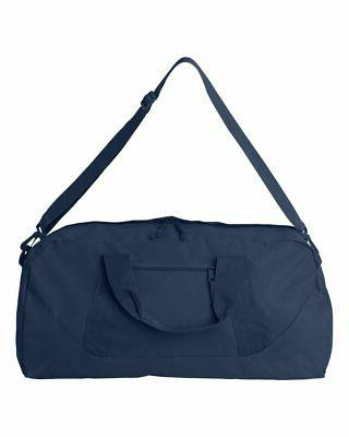 """Liberty Bags Recycled Duffel Gym 8806 Size: 1/2"""" 11 x"""