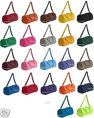 recycled small duffle gym bag 8805 new