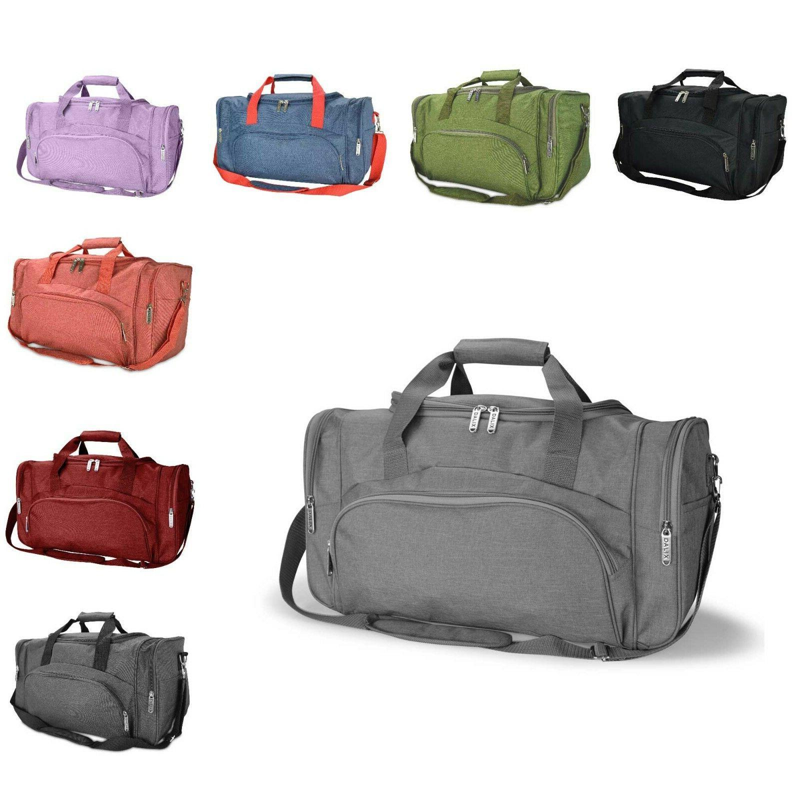 signature travel or gym duffle bag