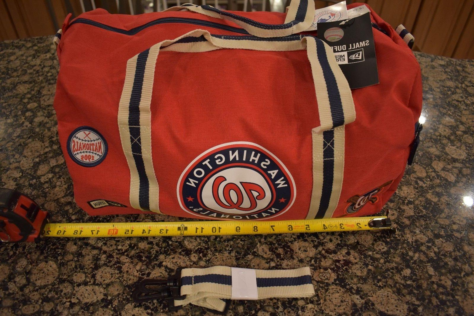 New Duffel Gym Nationals MLB NWT Patch