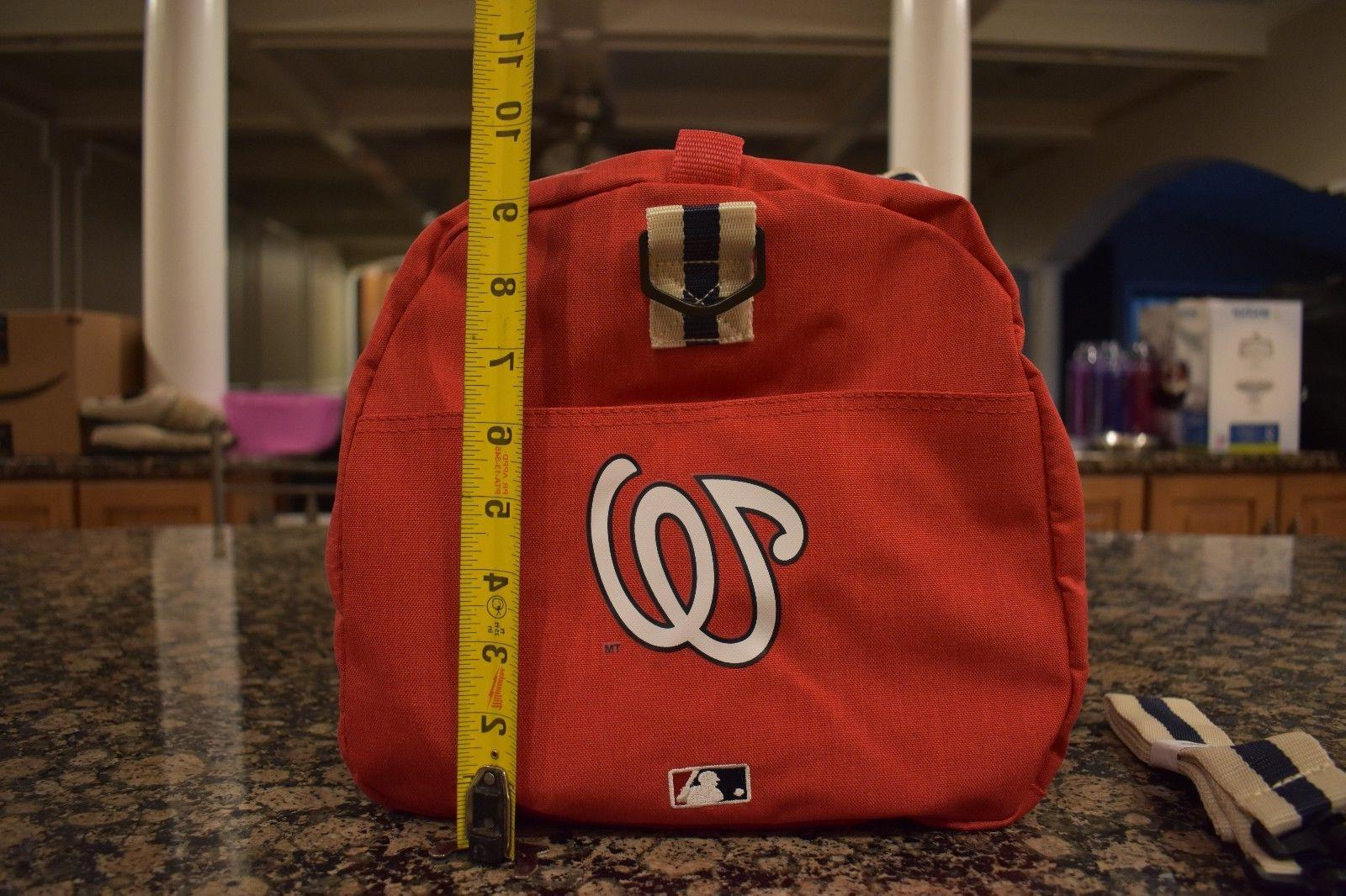 New Small Duffle Duffel Nationals Patch