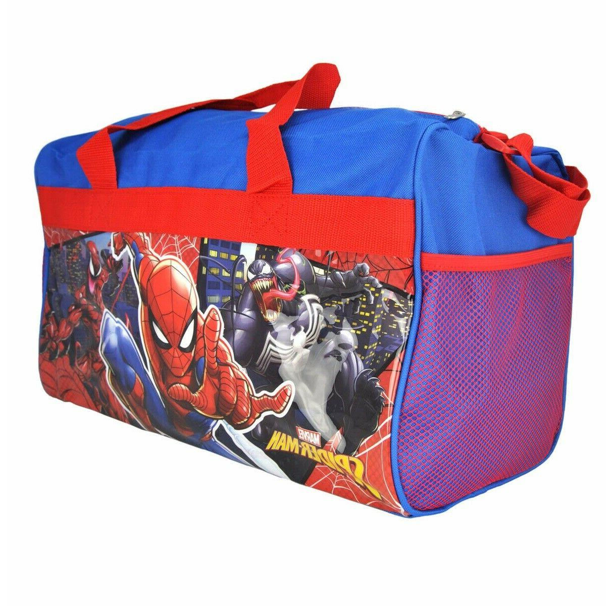 Marvel Spider-man Venom Carnage Kids Travel Diaper Gym