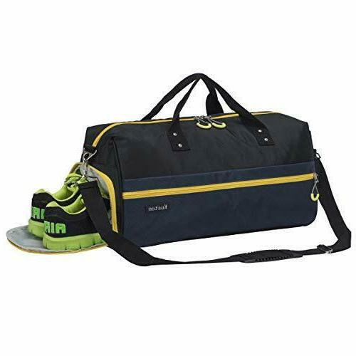 sports gym bag with shoes compartment travel