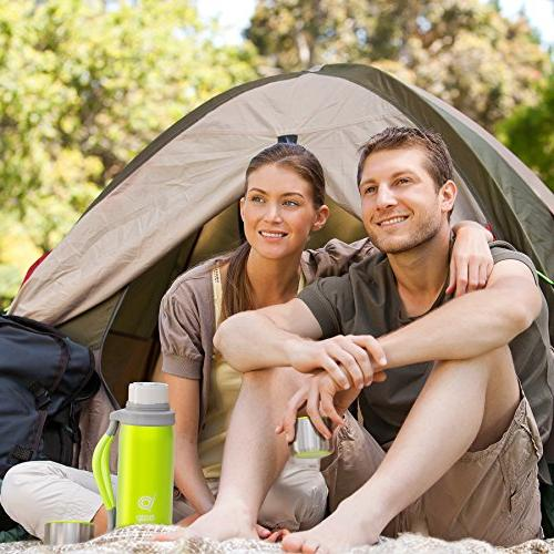 bago Water for Hours. Travel, Sport, Camping, Runners and Personal Daily - 1.2 Stainless Steel with and