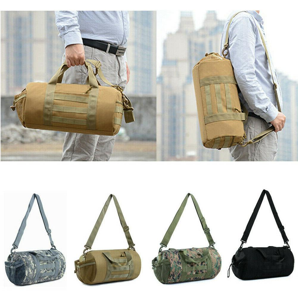 Tactical Handbag Military Molle Duffle Bag Travel Shoulder G