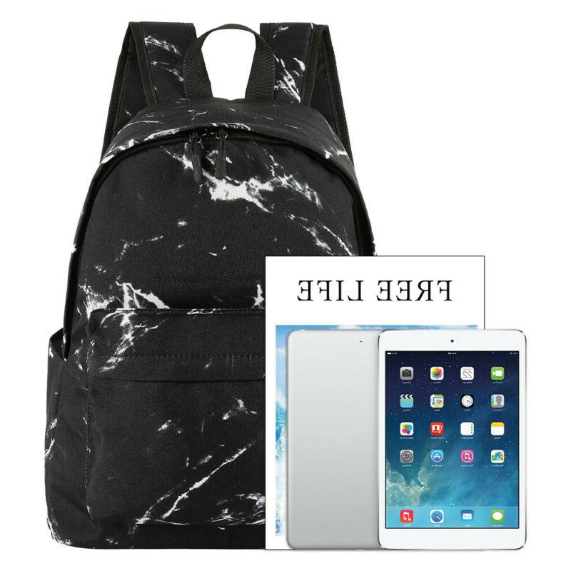 Travel Marble Print Portable Gym Backpack