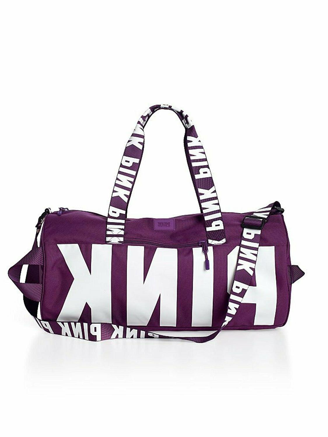 Victorias PINK Duffle Bag Tote VS Gym Travel Overnight Weekend Bag