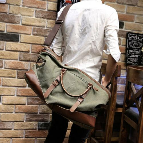 Vintage Duffle Bag Handbag Shoulder Bag Luggage