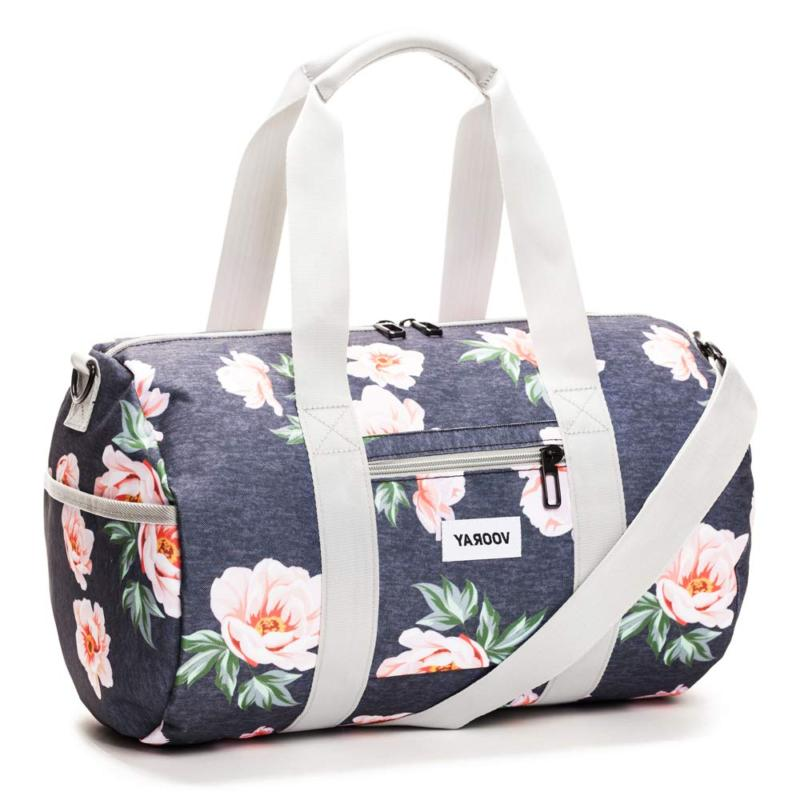 Vooray Roadie 23L Gym Duffel Floral