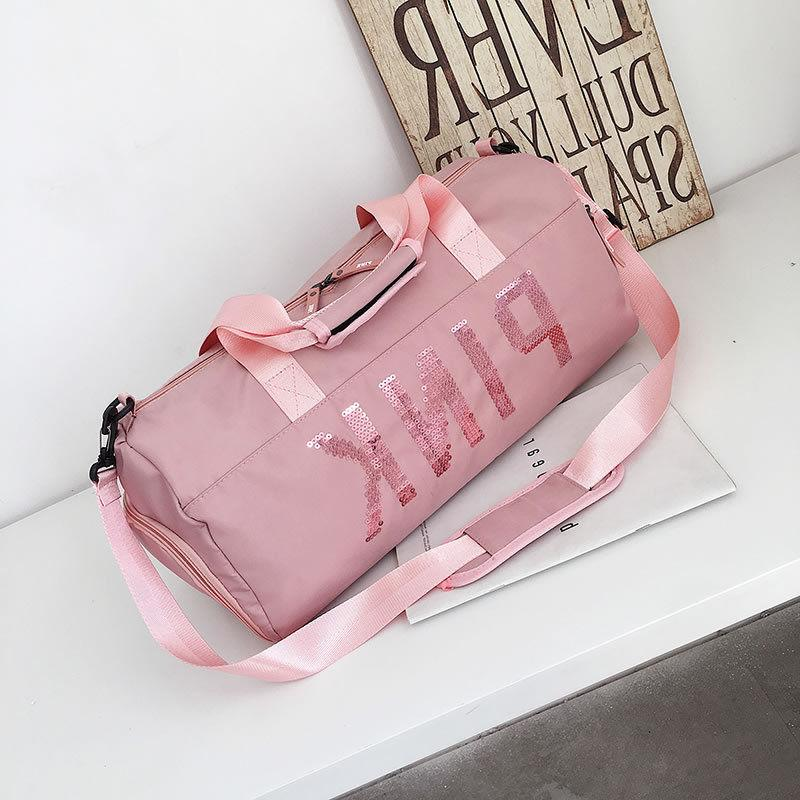 Women's Spring Gym Sports Travel Bag Daypack Duffle Pack Sho