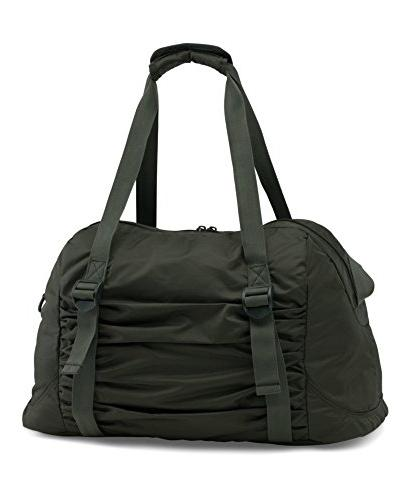 Under Armour Works Bag, Artillery Green /Silver, Size