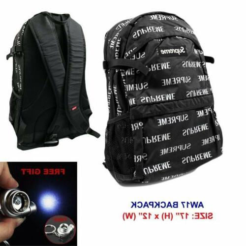 "Travel Sport 9""-18"" Supreme²3M Laptop Backpack Shoulder Gym"