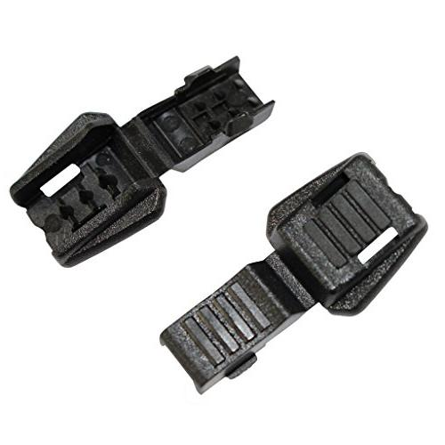 SGT Black - Cord Lock for Drawstrings, Bags, Luggage, Shoelaces, More