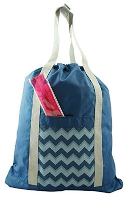Lightweight Drawstring Backpack Convertible Tote Bag Grocery