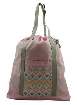 Lightweight Drawstring Backpack Tote Bag 2-in-1 Convertible