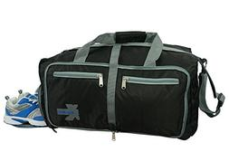 Lightweight Gym Bag Heavy Duty Duffel Foldable Travel Tote S