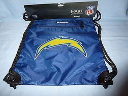 LOS ANGELES CHARGERS  REEBOK  NFL GYM BAG / DRAWSTRING BACKP