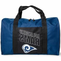 Los Angeles Rams Duffel Bag Gym Bag Overnight Bag 18x12x8 NF