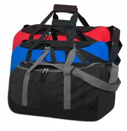 """Lot Of 24 Duffle Bag Bags Travel Size Sports Gym Blank 20"""" W"""