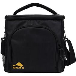 Lunch Bag Insulated Lunch Box Cooler Detachable Shoulder Str