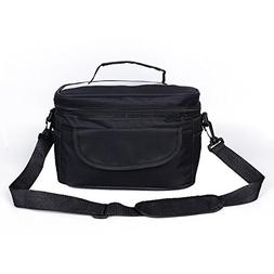 HMQINYI 8L Lunch Box Outdoor Insulated Lunch Bag Picnic Food