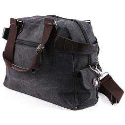 Men's Vintage Large Canvas Luggage Travel Shoulder Bag Tote