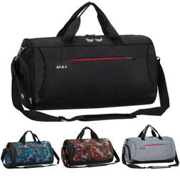 Men's Waterproof Sports Gym Duffle Bag Travel Carry on Shoul