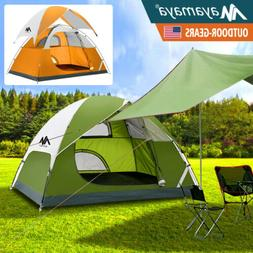 Ultralight Camping Tent 3 4 Person Waterproof Backpacking +
