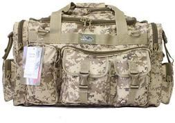 NPUSA Mens Large 26' Duffel Duffle Military Molle Tactical G