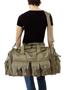 "Mens Large 30""Inch Duffel Duffle Military Molle Tactical Car"