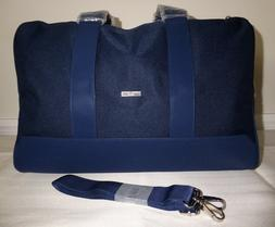 GIORGIO ARMANI Men's Navy DUFFEL Weekender Travel Gym Over