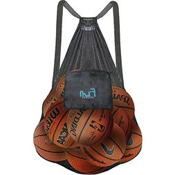 Mesh Bag Ball Beach Toy  - Large Backpack for Basketball Poo