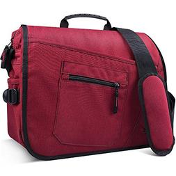 Qipi Messenger Bag - Pocket Rich Satchel Shoulder Bag for Me