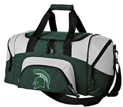 SMALL Michigan State Duffle Bag Michigan State University Gy